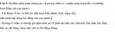 Bài 2 trang 27 SGK Sinh 8