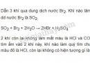 Bài 2 trang 75 SGK Hóa học 11