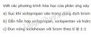 Bài 3 trang 121 SGK Hóa học 11