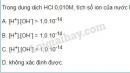 Bài 6 trang 14 SGK Hóa học 11