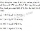 Bài 8 trang 38 SGK Hóa học 11