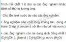 Bài 3 trang 186 SGK Hóa học  11
