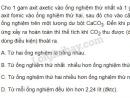 Bài 4 trang 213 SGK Hóa học 11