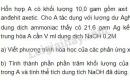 Bài 5 trang 213 SGK Hóa học 11