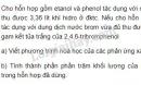 Bài 6 trang 195 SGK Hóa học 11