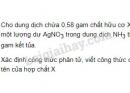 Bài 8 trang 213 SGK Hóa học 11