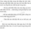 Bài 4 trang 90 SGK Sinh học 11