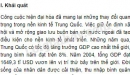 Khái quát nền kinh tế Trung Quốc