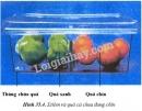 Quan sát hình 35.4 và cho biết người ta xếp quả chín cùng với quả xanh để làm gì ?