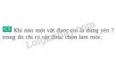 Bài C3 trang 5 SGK Vật lí 8