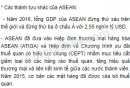 Hãy kể thêm các thành tựu của ASEAN. Nguyên nhân nào dẫn tới các thành tựu đó?