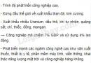 Bài 2 trang 114 SGK Địa lí 11