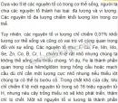 Bài 1 trang 18 SGK Sinh học 10