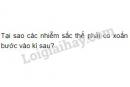 Bài 3 trang 75 SGK Sinh học 10