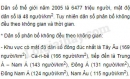 Bài 1 trang 97 SGK Địa lí 10