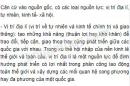 Bài 1 trang 102 SGK Địa lí 10
