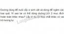 Bài 1 phần IV trang 130 SGK Sinh học 10