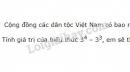 Bài 82 trang 33 SGK Toán 6 tập 1
