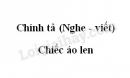 Chính tả: Chiếc áo len trang 22 SGK Tiếng Việt 3 tập 1