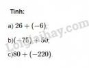 Bài 27 trang 76 SGK Toán 6 tập 1