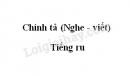 Chính tả: Tiếng ru trang 68 SGK Tiếng Việt 3 tập 1