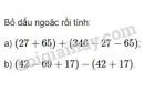 Bài 60 trang 85 SGK Toán 6 tập 1