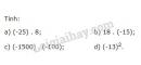 Bài 85 trang 93 SGK Toán 6 tập 1