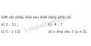 Bài 4 trang 6 SGK Toán 6 tập 2