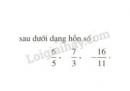 Bài 94 trang 46 SGK Toán 6 tập 2