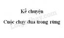 Kể chuyện Cuộc chạy đua trong rừng trang 82 SGK Tiếng Việt 3 tập 2