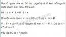 Bài 172 trang 67 SGK Toán 6 tập 2