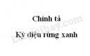 Chính tả: Kỳ diệu rừng xanh trang 76 SGK Tiếng Việt 5 tập 1