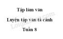 Tập làm văn: Luyện tập văn tả cảnh trang 83 SGK Tiếng Việt lớp 5 tập 1