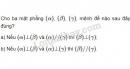 Bài 1 trang 113 SGK Hình học 11