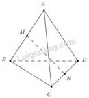 Bài 4 trang 92 SGK Hình học 11