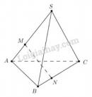 Bài 9 trang 92 SGK Hình học 11