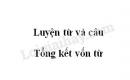 Luyện từ và câu: Tổng kết vốn từ trang 151 SGK Tiếng Việt lớp 5 tập 1