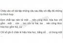 Bài 1 trang 33 SGK Hóa học 8