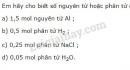 Bài 1 trang 65 SGK Hóa học 8