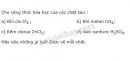 Bài 2 trang 33 SGK Hóa học 8