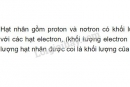 Bài 3 trang 15 SGK Hóa học 8