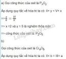 Bài 2 trang 91 SGK Hóa học 8