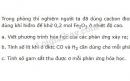 Bài 4 trang 113 SGK Hóa học 8