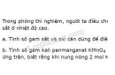 Bài 6 trang 94 SGK Hóa học 8