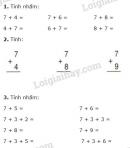 Bài 1, 2, 3, 4, 5 trang 26 SGK Toán 2