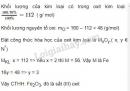 Bài 4 trang 132 SGK Hóa học 8
