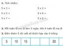 Bài 1, 2, 3 trang 101 SGK Toán 2