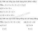 Bài 1, 2, 3 trang 94 SGK Toán 2