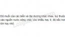 Bài 1 trang 75 SGK Địa lí 6