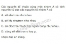 Bài 1 trang 41 SGK Hoá học 10